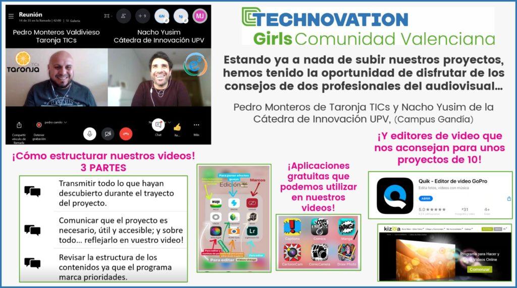 Pedro Monteros y Nacho Yusim de la Cátedra de Innovación Campus de Gandia en una de las formaciones sobre competencias digitales.
